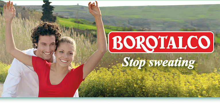Borotalco - Stop sweating